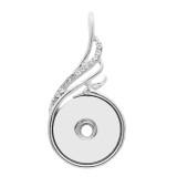 snap sliver Pendentif avec ajustement 20MM snaps style bijoux KC0461