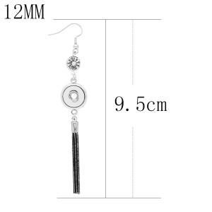 snap Earrings fit 12MM snaps style jewelry KS1268-S
