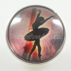 20MM Snap Glass Dancer KB2597-N Snaps interchangeables bijoux