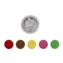 10pcs Schwamm Parfüm Scheiben 15mm fit Parfüm Snap Medaillon 22mm MIX Farben