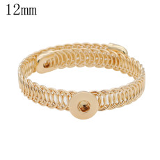 1 buttons snaps gold copper Bracelets KS1234-S fit 12MM snaps chunks