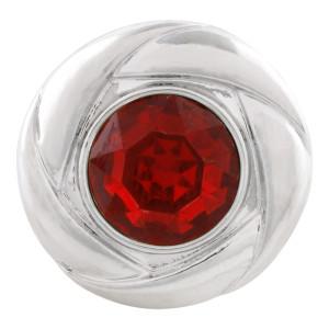 20MM snap Jul. Birthstone red KC5681 broches intercambiables joyería