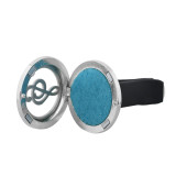 30mm alloy Note car perfume aromatherapy essential oil diffuser breathable air freshener decorative perfume clip Spacer color random hair fit 23mm pads ( xx0104-mix)