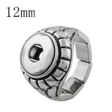 12MM snaps adjustable Ring KS1176-S snaps jewelry