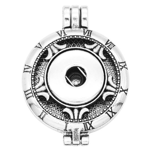 Aleación 30MM Aromaterapia / Difusor de aceites esenciales Perfume broche de joyería en forma de trozos 20MM Colgante con discos 1pc 20mm como regalo