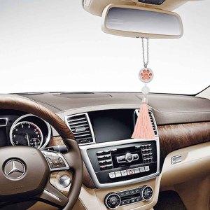 28mm Edelstahl Auto Parfüm Aromatherapie ätherisches Öl Anhänger atmungsaktiv Lufterfrischer dekorativ