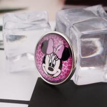20MM Snap Glas Cartoon C0962 austauschbar lila pink