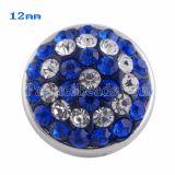 Broches de tamaño pequeño Trozos de estilo con diamantes de imitación azules KS2708-S