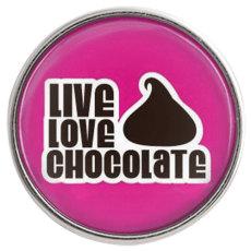 20MM snap glass valentine Chocolates C1085 joyería de broches intercambiables
