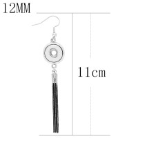 snap Earrings fit 12MM snaps style jewelry KS1266-S