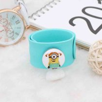 20MM Painted Minions enamel metal C5729 print snaps jewelry