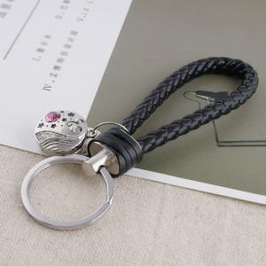 20MM серебряная посеребренная с розовым горным хрусталем KC5568 оснастка ювелирные изделия
