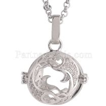 Angel Caller constellation ZODIAC-Pisces Collier fit 16mm boules exclure balle AC3788S