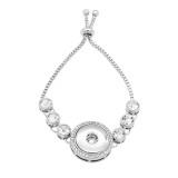 Botones 1 brazalete ajustable con astilla de encaje Incrustación de diamantes encaje broches joyería KC0811
