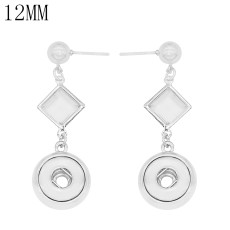 snap Earrings fit 12MM snaps style jewelry KS1269-S