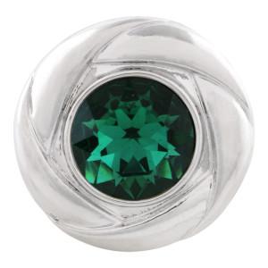 20MM оснастка May камень темно-зеленый KC5679 сменные защелки ювелирные изделия