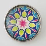 20MM Оснастка разноцветное стекло Декоративный рисунок KB2861-N сменный Многоцветный