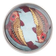 20MM snap Pisces C0042 Snaps interchangeables bijoux