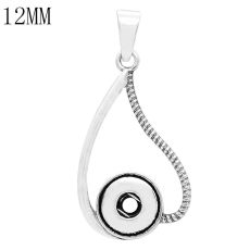 Necklace Pendant fit 12MM snaps style jewelry KS0364-S