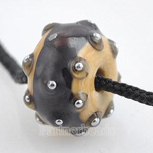 partner Small Size murano perles de verre au chalumeau-2mm trou