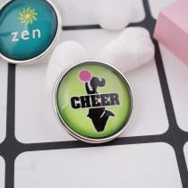 20MM snap glass Cheer C1065 bijoux interchangeables