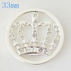 Moneda de aleación 33 mm en forma de medallón tipo joyería 012