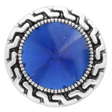 20MM snap Sep. birthstone blue KC6582 broches intercambiables joyería