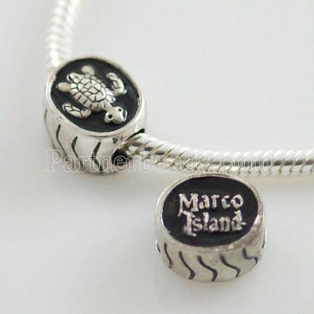 partner antique sterling silver beads