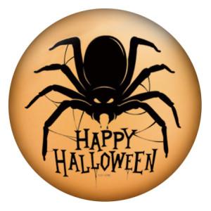 20MM Halloween Gemalte Emaille Metall C5464 Druck schnappt Schmuck