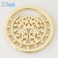 33 mm Alloy Coin fit Medaillon Schmuck Typ034