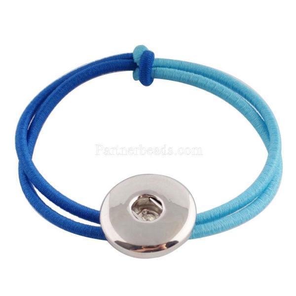 Accesorios para el cabello con un botón KC0616 Fit 18 / 20mm Broches de joyería