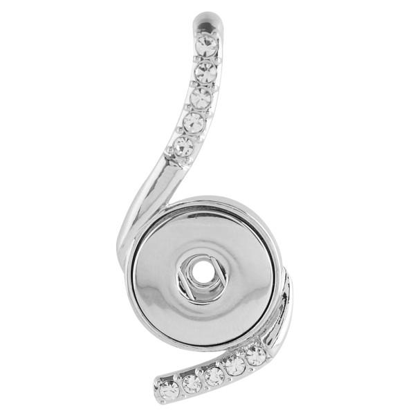 Colgante de collar fit 18 / 20mm broches estilo joyería KC0361