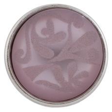 18mm coupe les morceaux violets Style JewelPops
