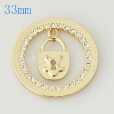 33 mm Alliage Coin fit Médaillon bijoux type005