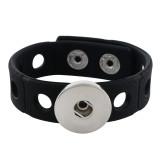 18см браслет для малышей младшего стиля с черной силиконовой эластичной растяжкой 15mm шириной 20mm