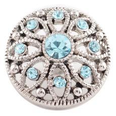 20MM snap Mar. birthstone light blue KC5047 interchangable snaps jewelry