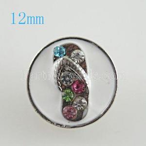 Las chanclas 12mm se ajustan con joyas de diamantes de imitación de colores KB6689-S