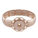Les boutons 1 s'enclenchent dans un bracelet en or rose ajusté 18 et 20MM se cassent des morceaux