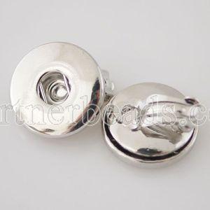 snaps metal earring
