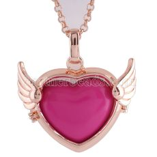 Angel Caller Necklace fit 25MM Love shape exclude Love shape pendant  AC3771R