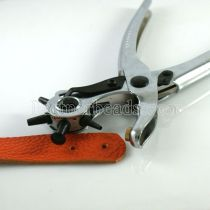 Leather Hole Punch Hand Pliers Belt Holes Punches