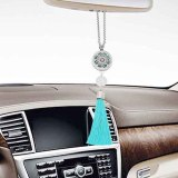 28mm stainless steel car perfume aromatherapy essential oil Pendant breathable air freshener decorative