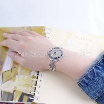 Bracelet en métal de haute qualité avec strass 23CM fit 18 & 20MM s'enclenche des morceaux 1 boutons s'enclenche Bijoux