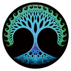 Дерево 20MM Роспись эмалью по металлу C5352 с принтом защелок ювелирных изделий