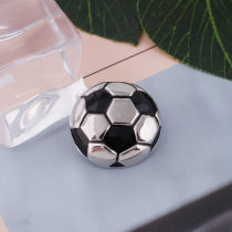 20MM Football snap Antique Silver Plated KB5413 snaps jewelry