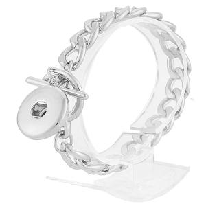 las pulseras de metal con un trozo se ajustan al estilo de las broches
