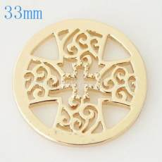 33 mm Alliage Coin fit Médaillon bijoux type041
