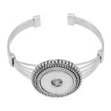 Boutons 1 encliqueter le bracelet de ruban pour 20MM s'enclenche bijoux KC0864