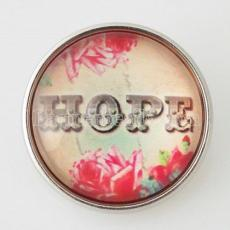 20MM snap glass Hope KB2811-N joyería de broches intercambiables