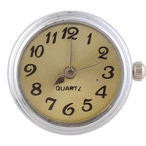 ajusta trozos de reloj amarillo